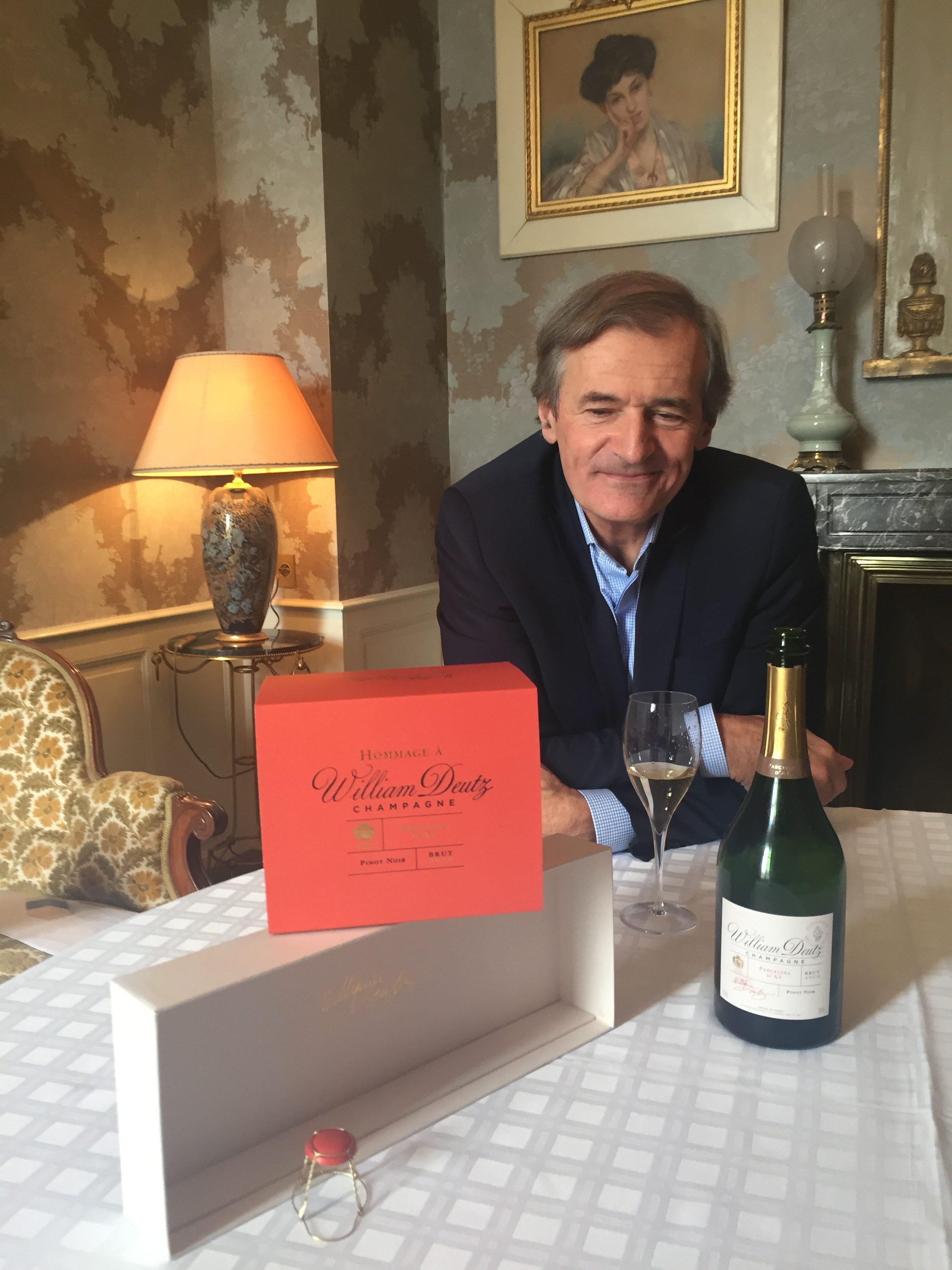 Année record pour le champagne Deutz