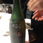 Champagne rosé Veuve-Clicquot 1961. Un millésime fabuleux !