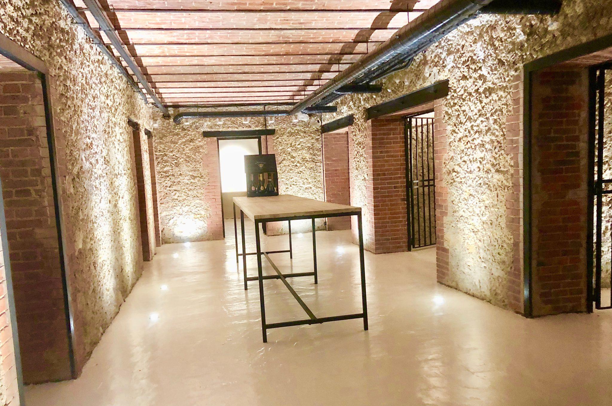 Une très belle rénovation pour ces caves de la maison sous l'avenue de Champagne.