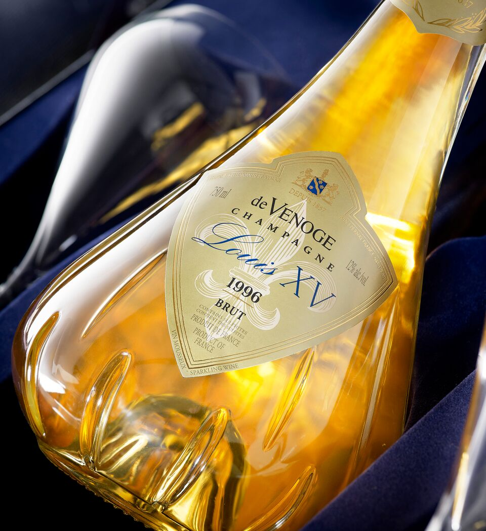 290 ème anniversaire de la commercialisation du Champagne par Louis XV.