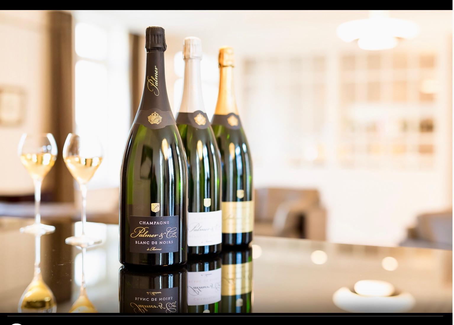 Un chiffre d'affaires record pour le champagne Palmer.
