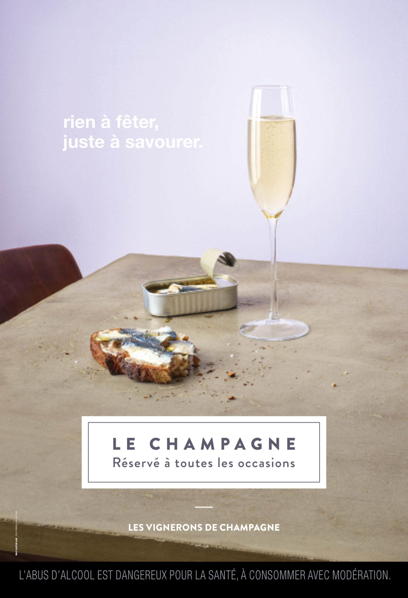 La grande campagne de communication sur le champagne lacéé par le SGV.