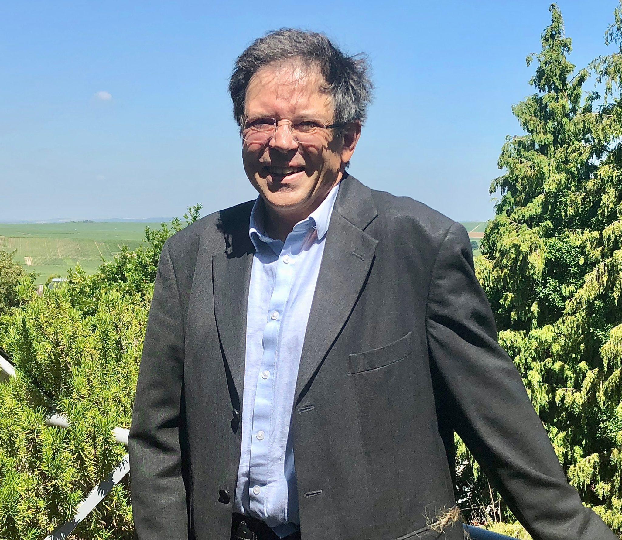Laurent Fédou, chef de caves de la maison Canard-Duchêne.
