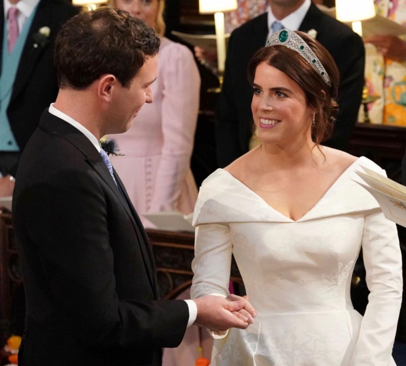 Le champagne Pol Roger de nouveau choisi pour un mariage royal anglais.