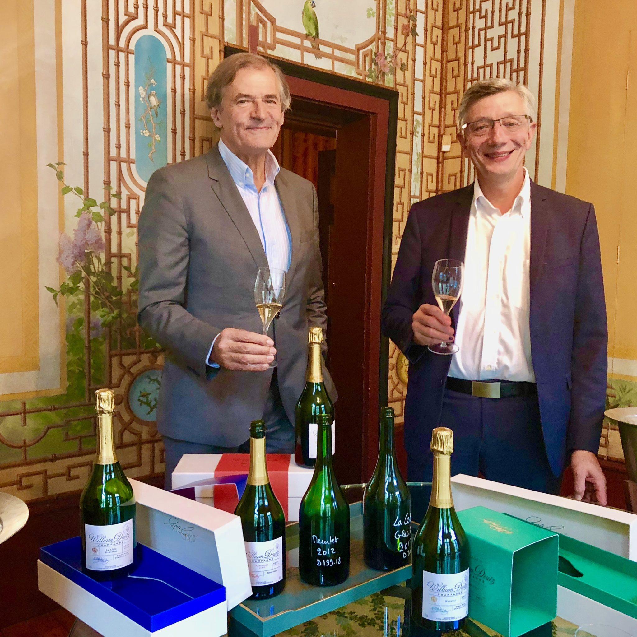 """Fabrice Rosset et Michel Davesne présentent leurs """"Hommages à William Deutz""""."""