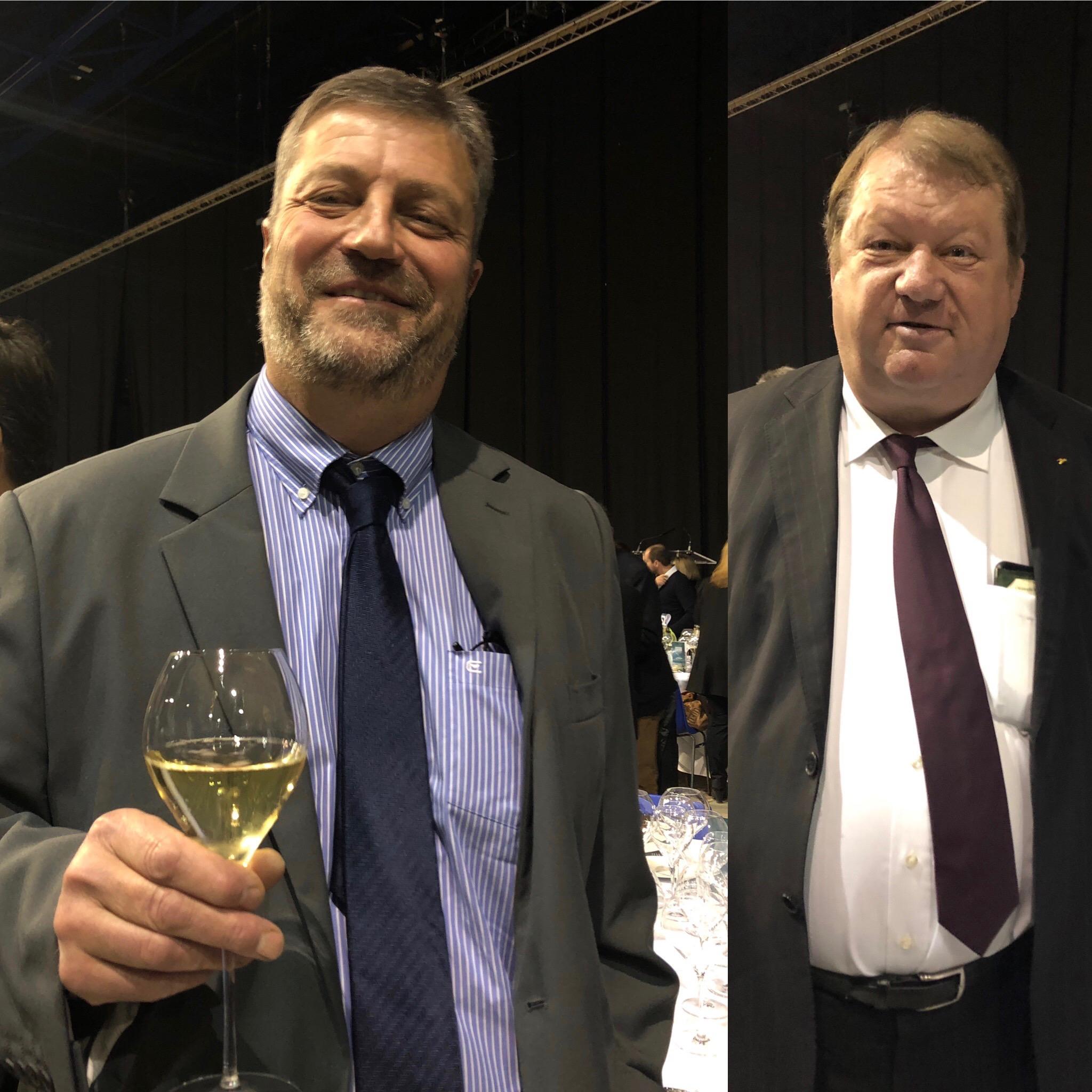 'Association viticole champenoise. Son vice-président est Christophe Rapeneau.
