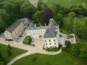 Le Château de Saran de Moët & Chandon est en travaux