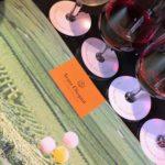 Master class sur le rosé Veuve-Clicquot.