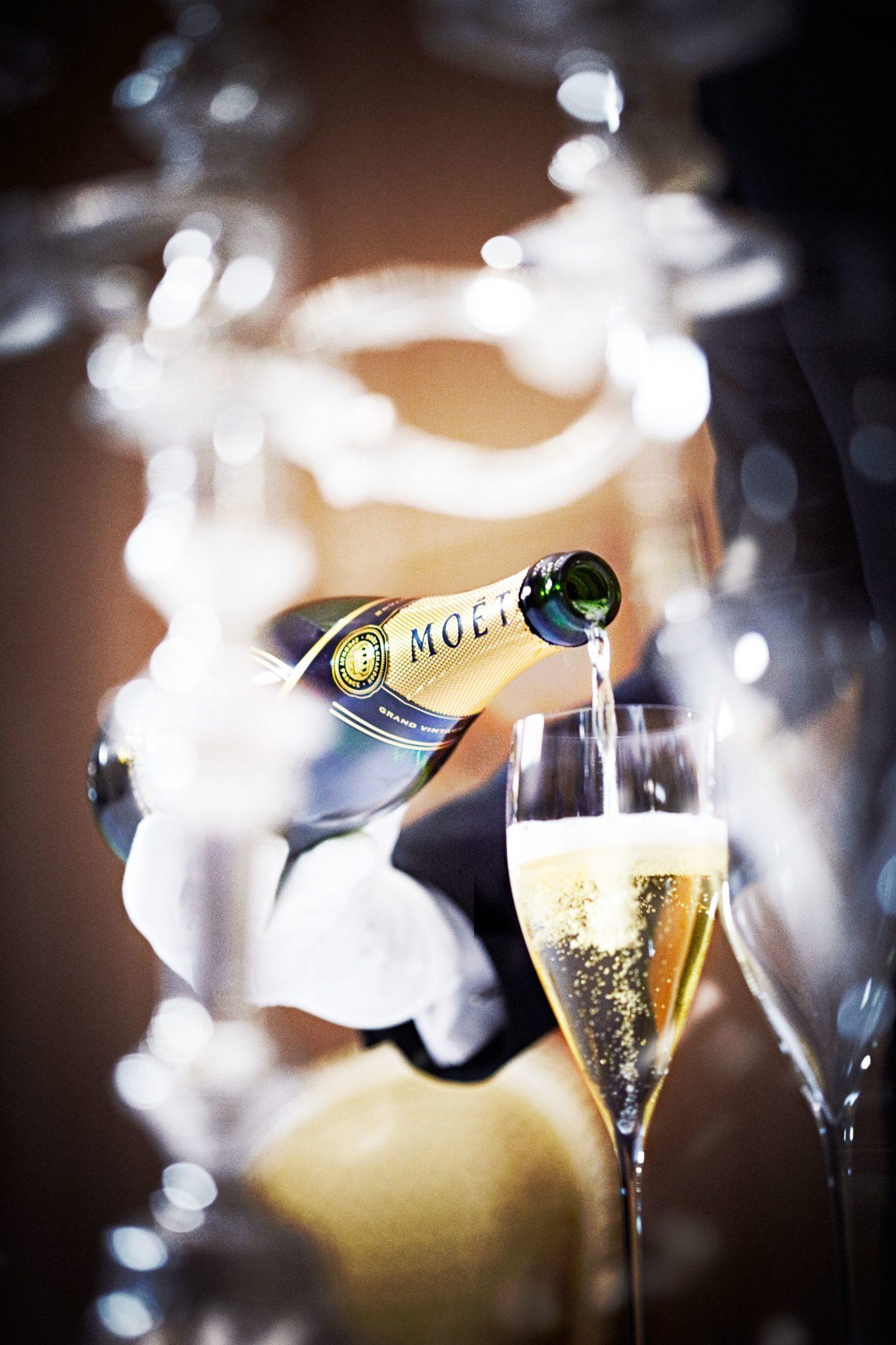 Une croissance de 1% pour le premier trimestre sur les activités Champagne de LVMH.