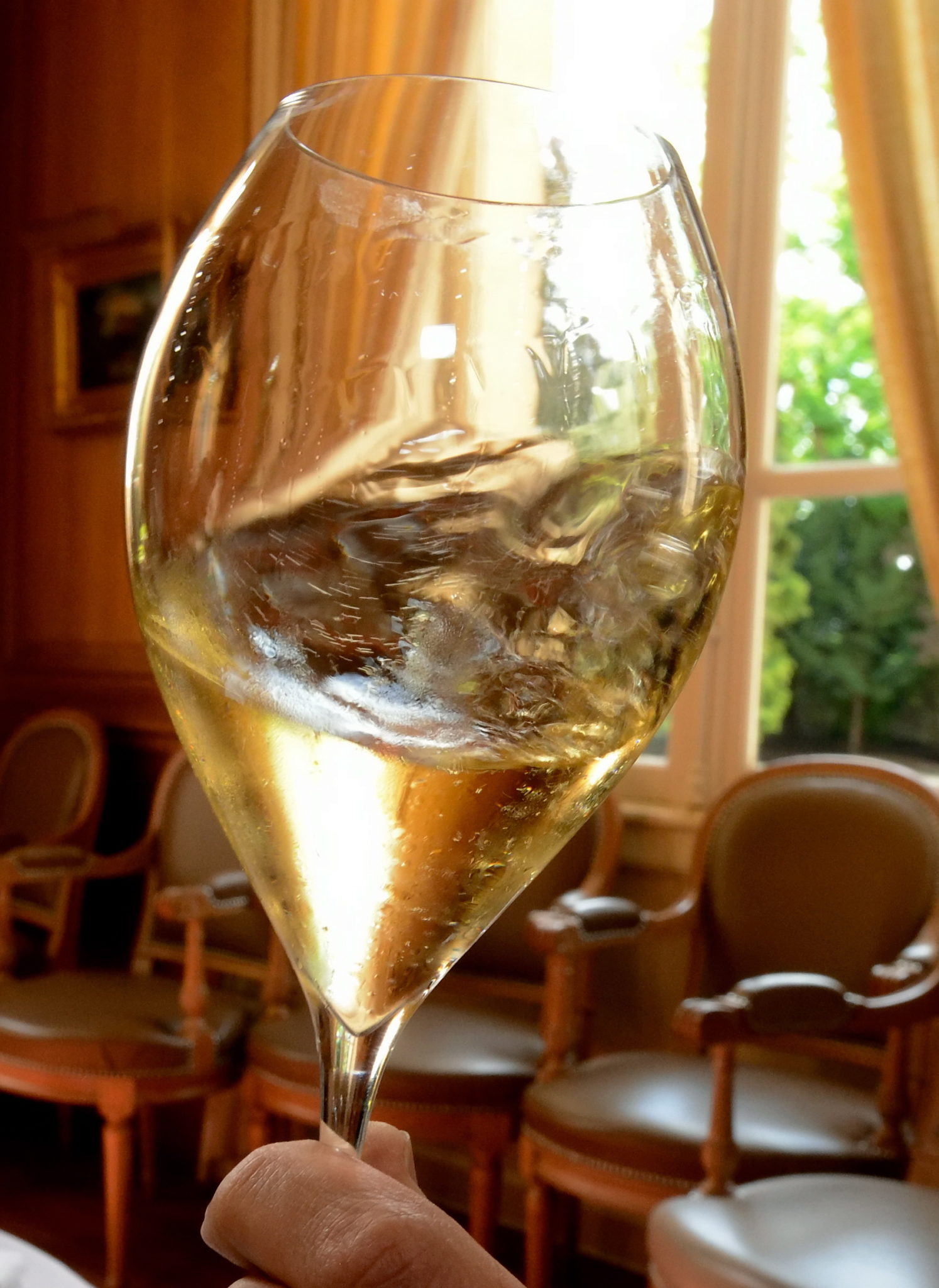Le champagne très en vue sur la cotation des grands vins.