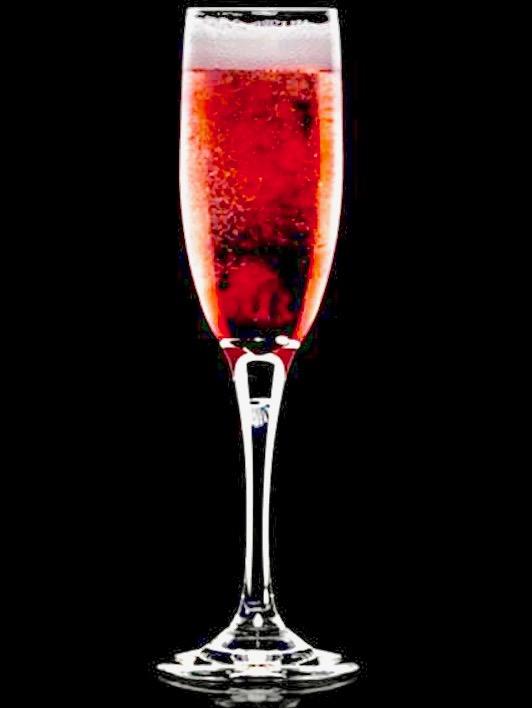 La maison Duval-Leroy présente une cuvée édition limitée : champagne plus quatre gouttes de crème de cassis.