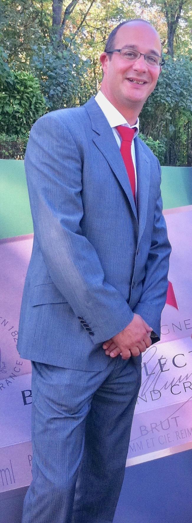 Nommé en 2006, Didier Mariotti est resté douze ans chez G.H.Mumm.