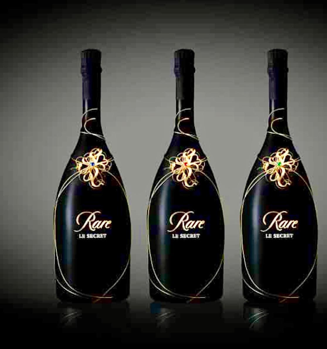 Le millésime 1997 vu par le joailler Millério pour Rare Champagne (Piper-Heidsieck).