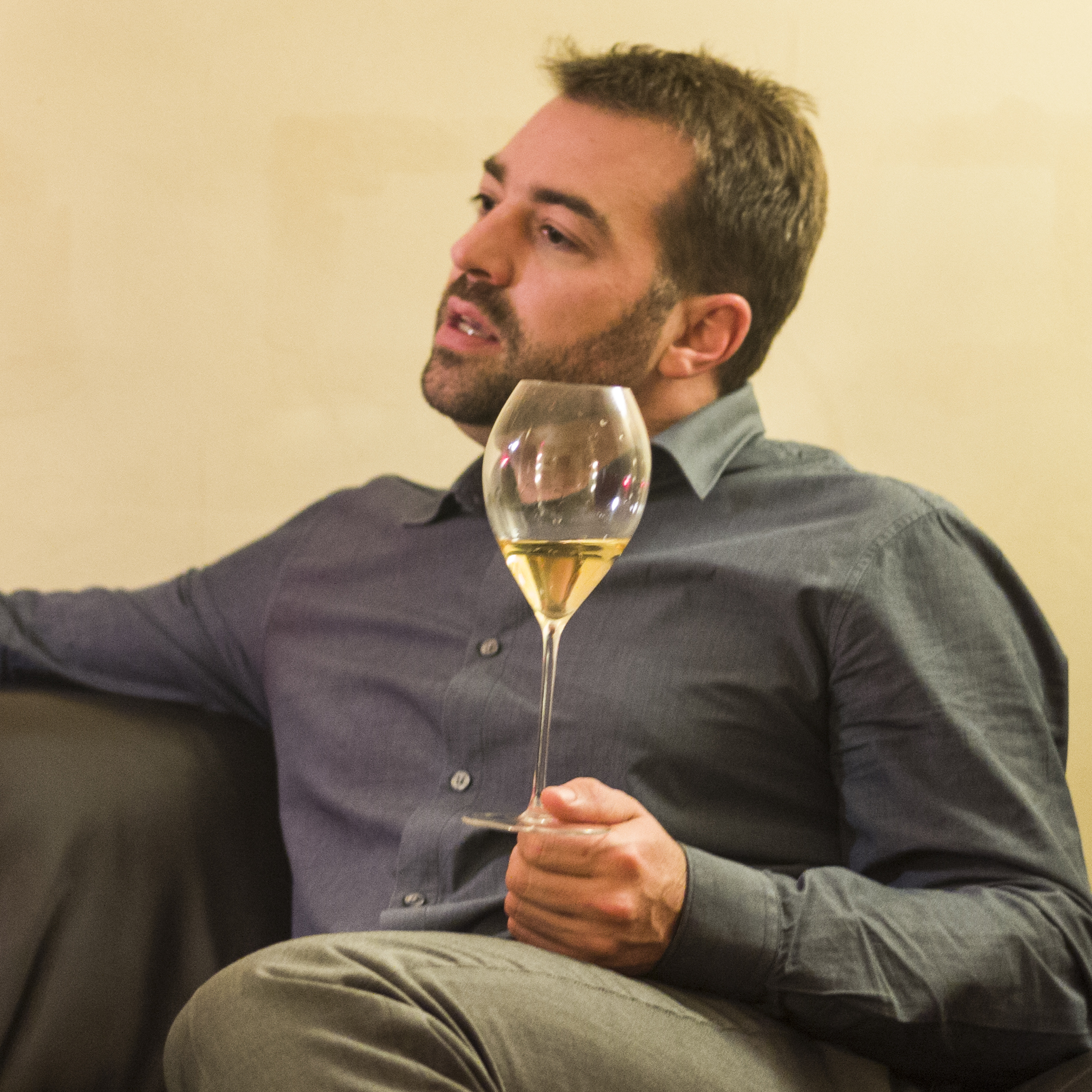 Dosages et dégorgements la nouvelle vie des champagne Napoléon par le chef de caves Johan Jarry.