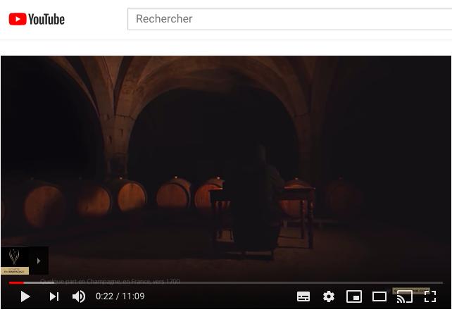 3, 7 millions de vues pour le film du Comité Champagne sur You Tube !
