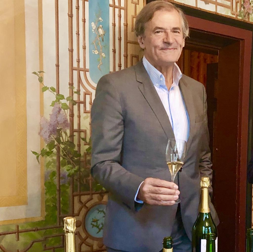 Une belle année 2018 pour Fabrice Rosset, président de la maison Deutz.