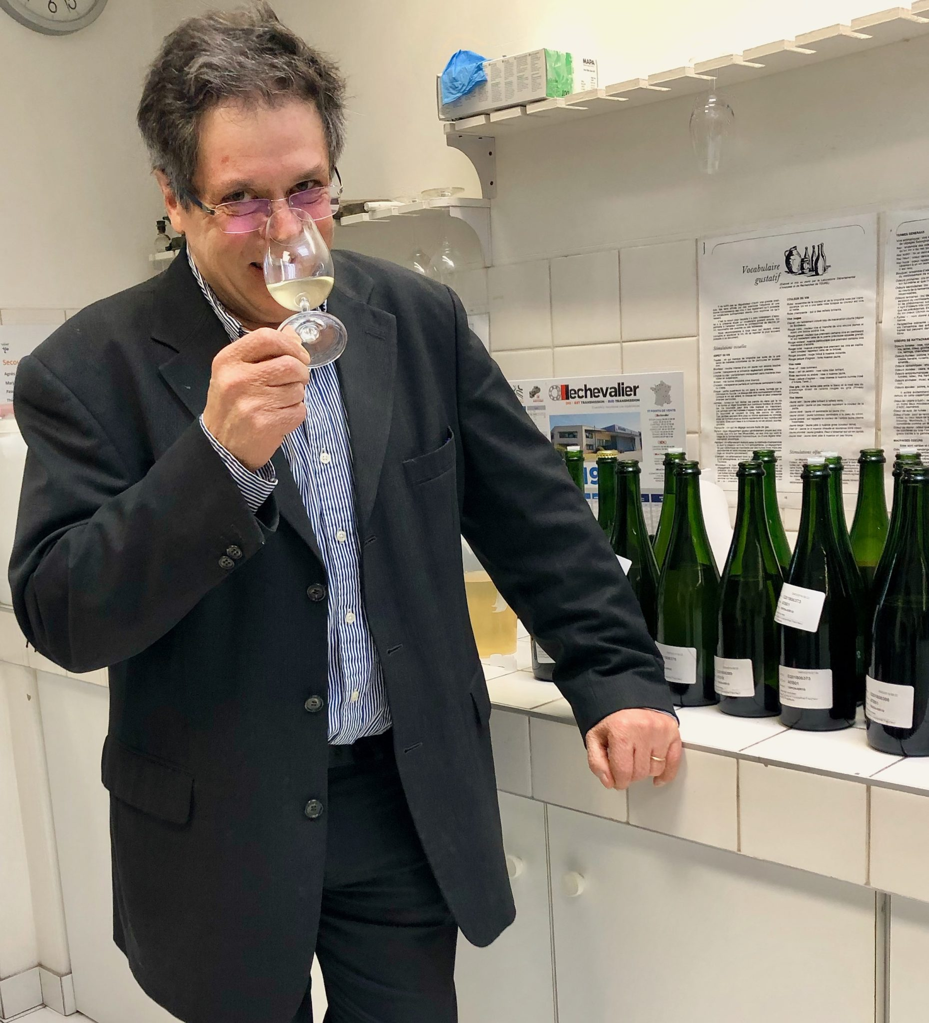 Les vins clairs 2018 avec Laurent Fédou (Canard-Duchêne)