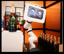 Un robot pour la cuvée Moët Impérial de Moët & Chandon