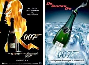 Bollinger aurait déboursé dix millions de livres pour être le champagne du prochain James Bond