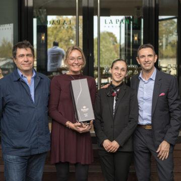Sommellerie :  Anne Long remporte la 2 ème édition du Ruinart Sommelier Challenge