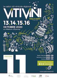 La onzième édition du VITI VINI du 13 au 16 octobre prochain à Epernay