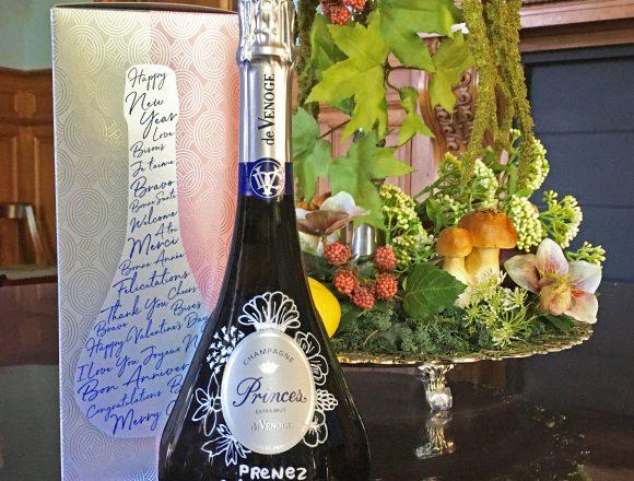 """Le """"Message in the bottle"""" du champagne de Venoge"""